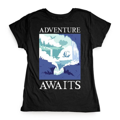 Adventure Awaits Womens T-Shirt