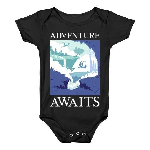 Adventure Awaits Baby Onesy