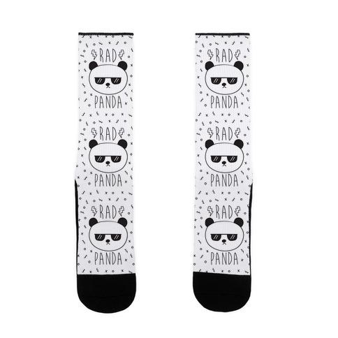 Rad Panda Sock