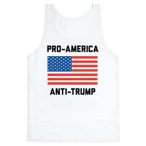 Pro-America Anti-Trump Tank Top