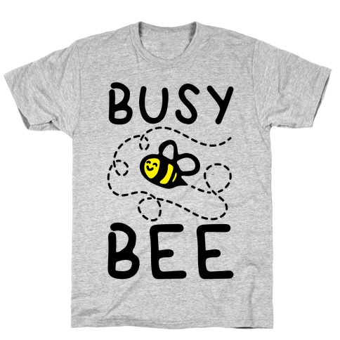 Busy Bee Mens/Unisex T-Shirt