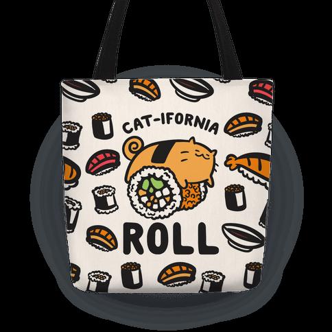 California Cat Roll Tote
