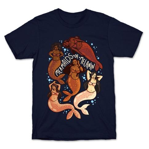 SFW Mermaids of Melanin T-Shirt