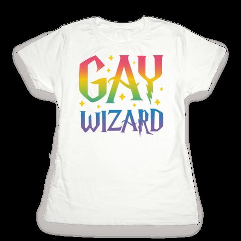 Gay Wizard Womens T-Shirt