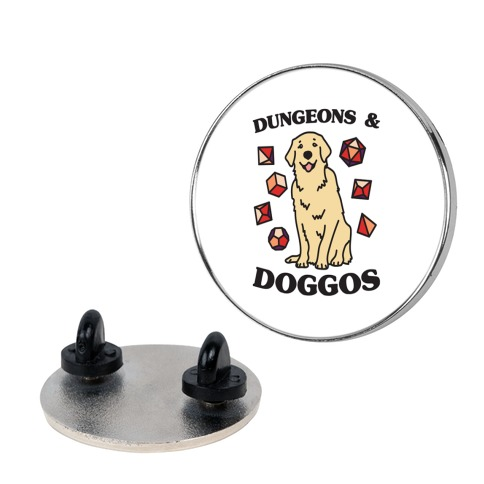 Dungeons & Doggos Pin