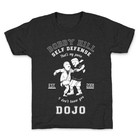 Bobby Hill Self Defense Dojo Kids T-Shirt