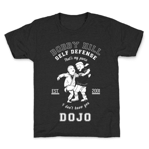 Bobby Hill Self Defense Dojo Kids T-Shirt