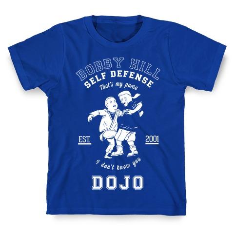 Bobby Hill Self Defense Dojo T-Shirt