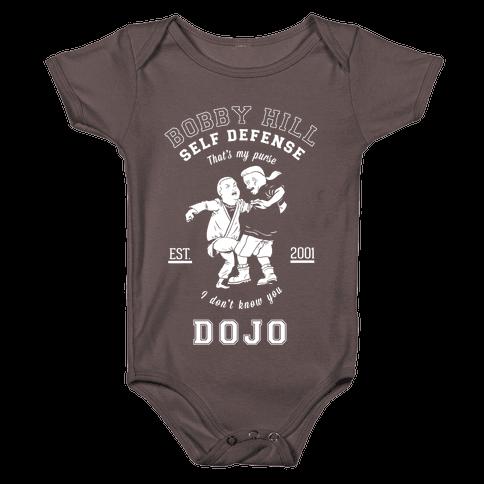 Bobby Hill Self Defense Dojo Baby One-Piece