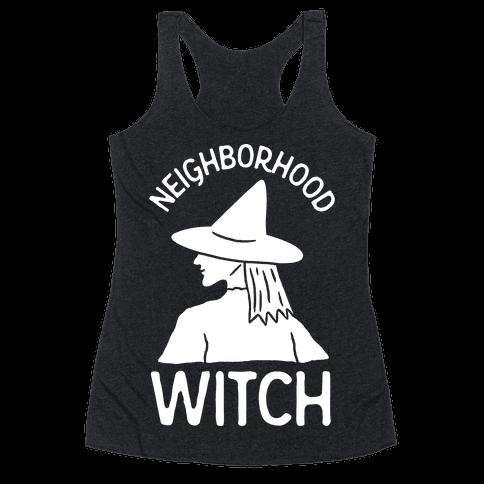 Neighborhood Witch Racerback Tank Top