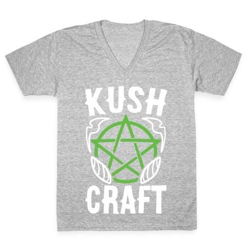 Kushcraft V-Neck Tee Shirt