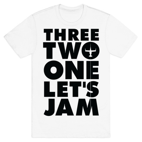 Three Two One Let's Jam Cowboy Bebop T-Shirt