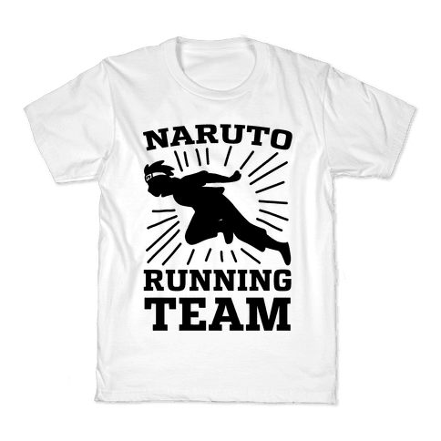 Naruto Running Team Kids T-Shirt