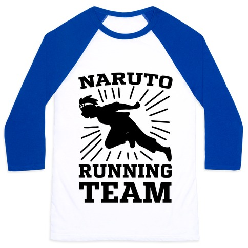 Naruto Running Team Baseball Tee