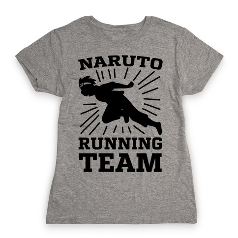 Naruto Running Team Womens T-Shirt