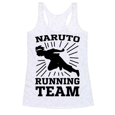 Naruto Running Team Racerback Tank Top