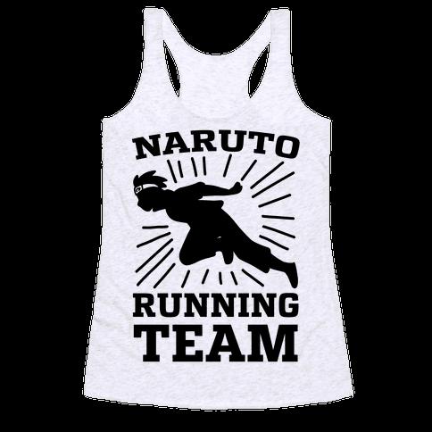 Naruto Running Team Racerback Tank Top