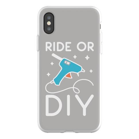 Ride Or DIY Pair 1/2 Phone Flexi-Case
