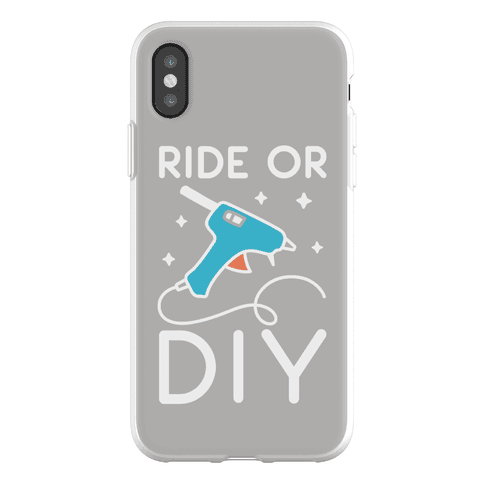 Ride Or DIY Pair 1/2 Phone Flexi-Case