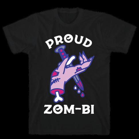 Proud Zom-bi Mens T-Shirt