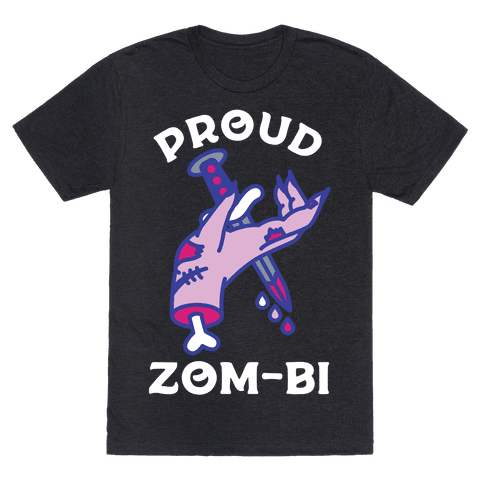 Proud Zom-bi Mens T-Shirt