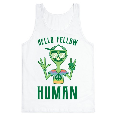 HELLO FELLOW HUMAN Tank Top