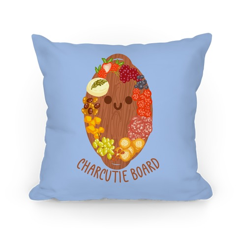 Charcutie Board Pillow