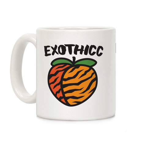Exothicc Tiger Peach Coffee Mug