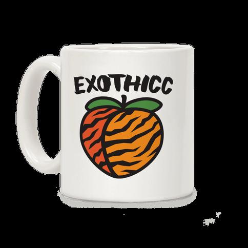Exothicc Tiger Peach Coffee Mug