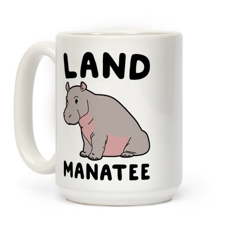 Land Manatee Coffee Mug
