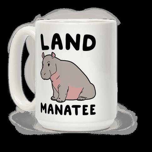 Land Manatee Coffee Mug