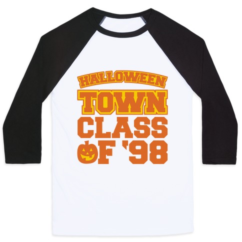 Halloween Town Class of '98 Parody Baseball Tee