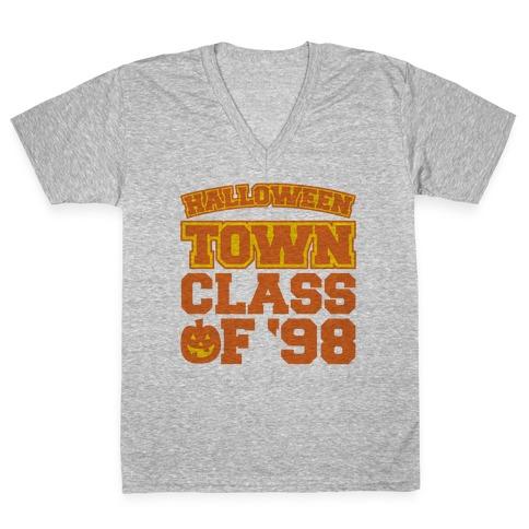 Halloween Town Class of '98 Parody V-Neck Tee Shirt
