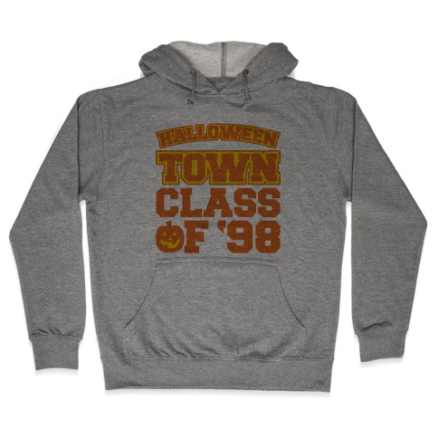 Halloween Town Class of '98 Parody Hooded Sweatshirt
