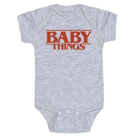Baby Things Parody Baby Onesy