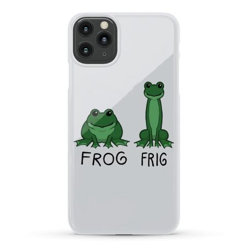 Frog, Frig Phone Case