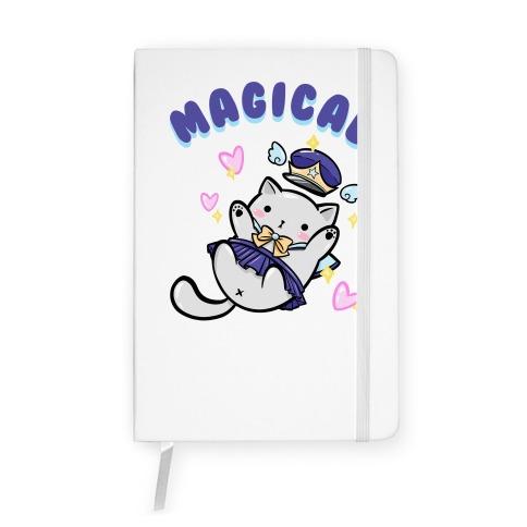 Magical Cat Notebook