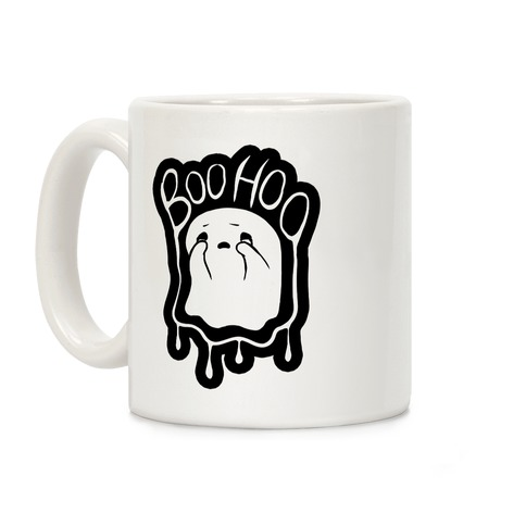 Boo Hoo Sad Ghost Coffee Mug