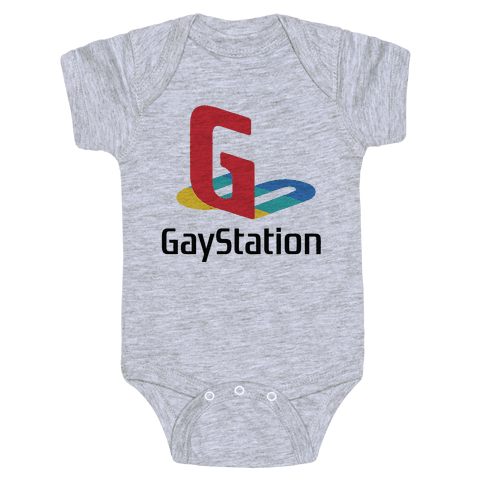 Gay Station Baby One-Piece