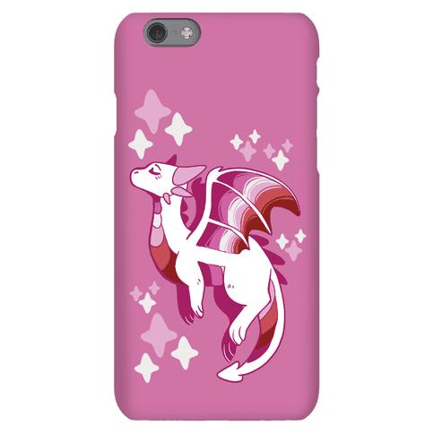Lesbian Pride Dragon Phone Case
