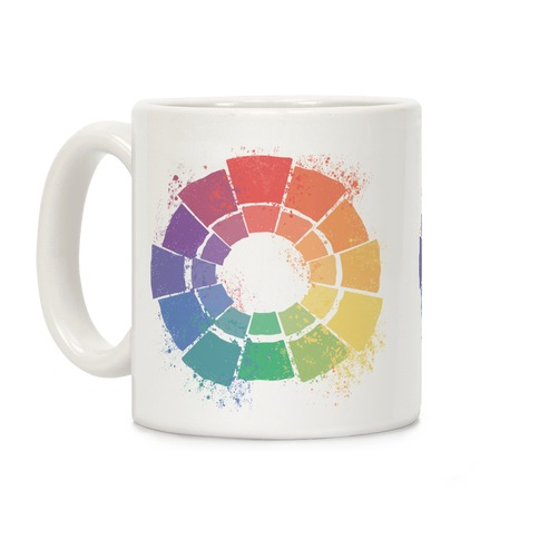 Gay Pride Color Wheel Coffee Mug