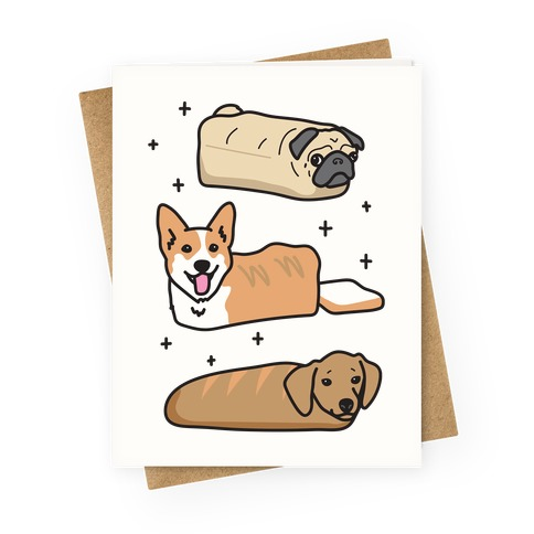 Dog Breads Greeting Card