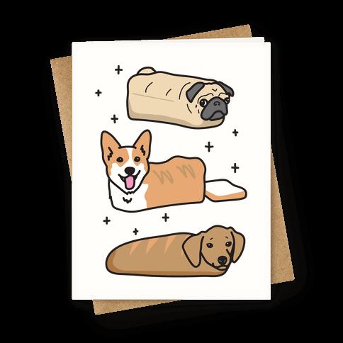 Dog Breads Greeting Card