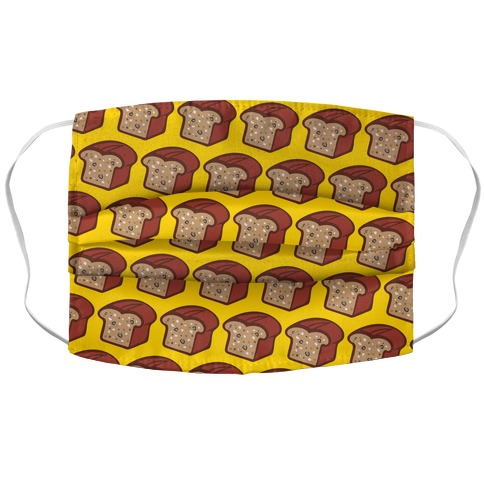 I'm A Nut For Banana Bread Accordion Face Mask