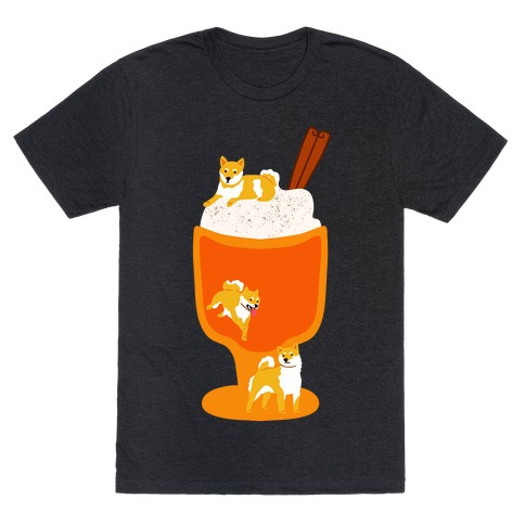 Pumpkin Spice Shibas T-Shirt