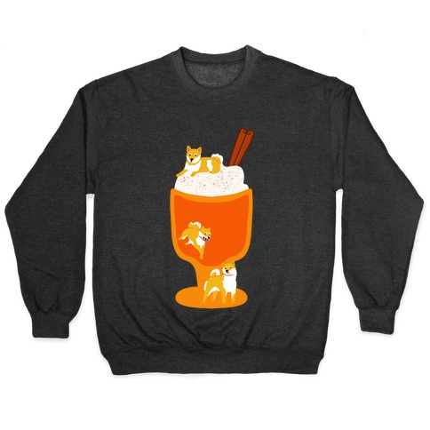Pumpkin Spice Shibas Pullover
