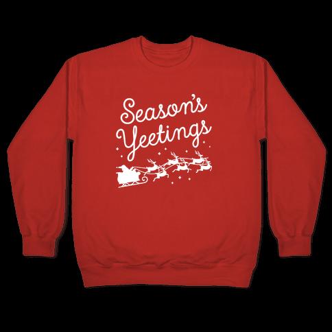 Season's Yeetings Pullover