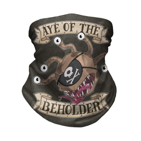 Aye Of The Beholder Neck Gaiter