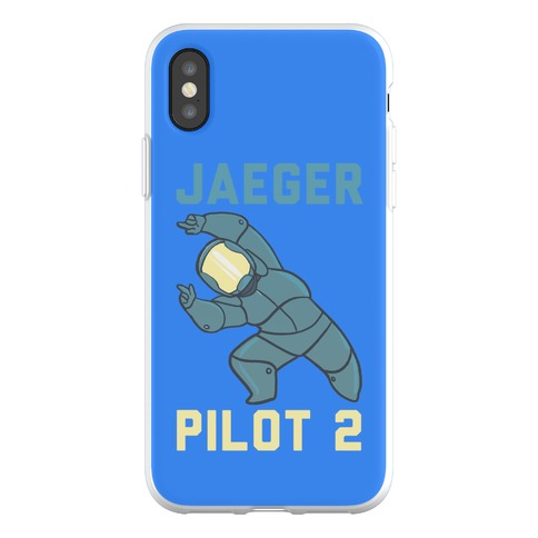 Jaeger Pilot 2 (1 of 2 Pair) Phone Flexi-Case