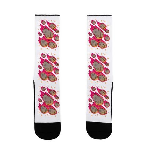 ASSteroids Sock